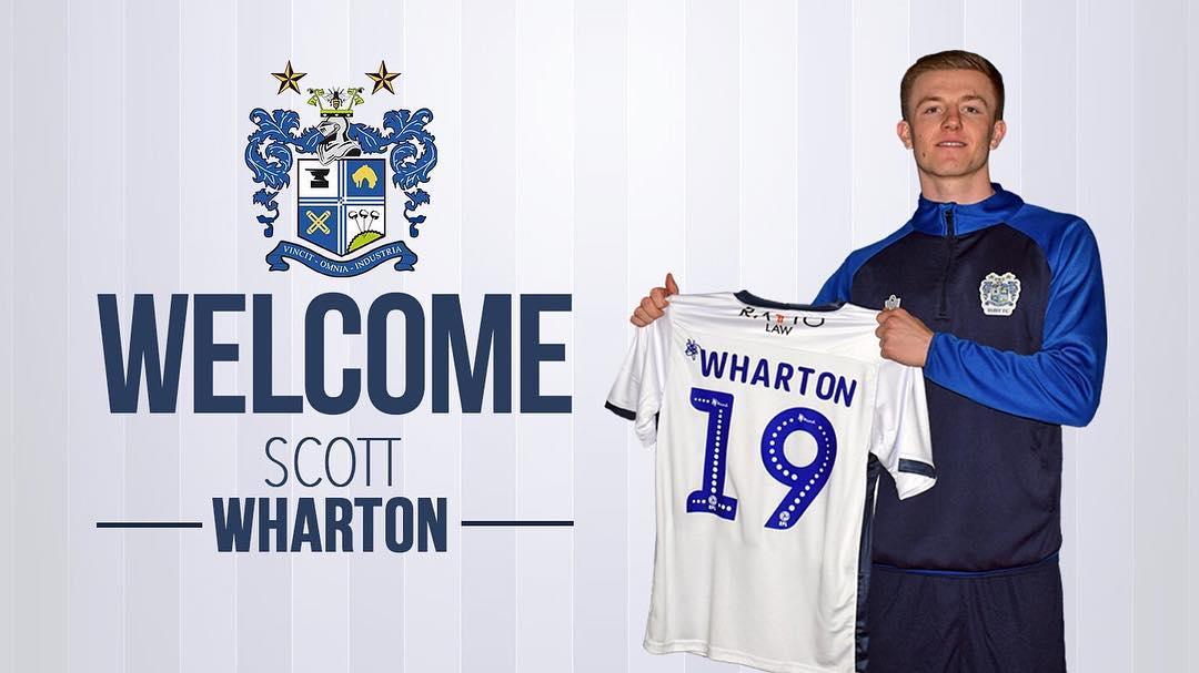 Congratulations Scott Wharton who joins Bury FC – OmniSports